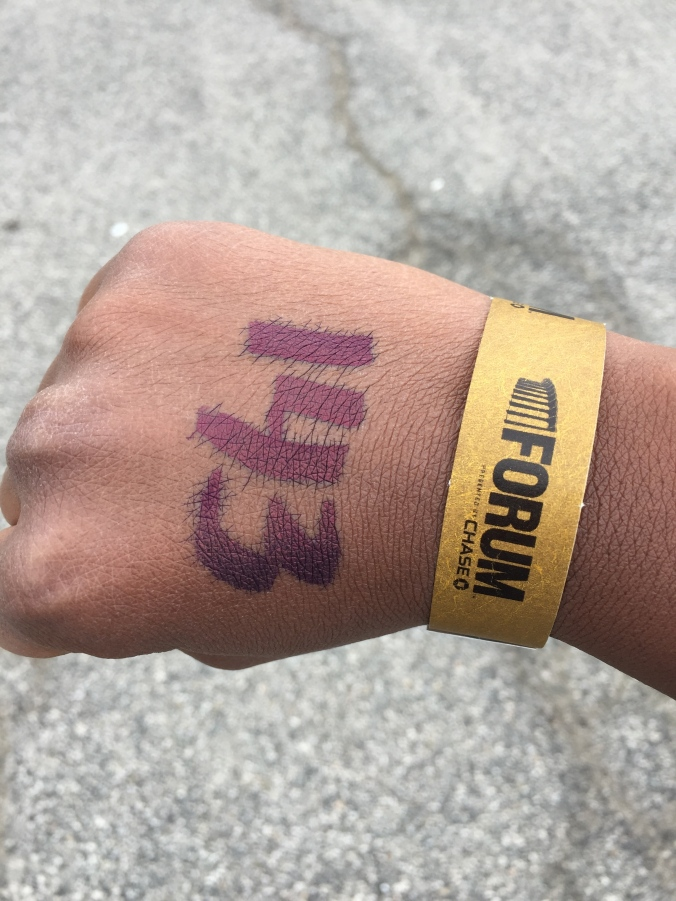 Another day, another wristband
